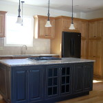 Custom kitchen installed by Laurin Builders.